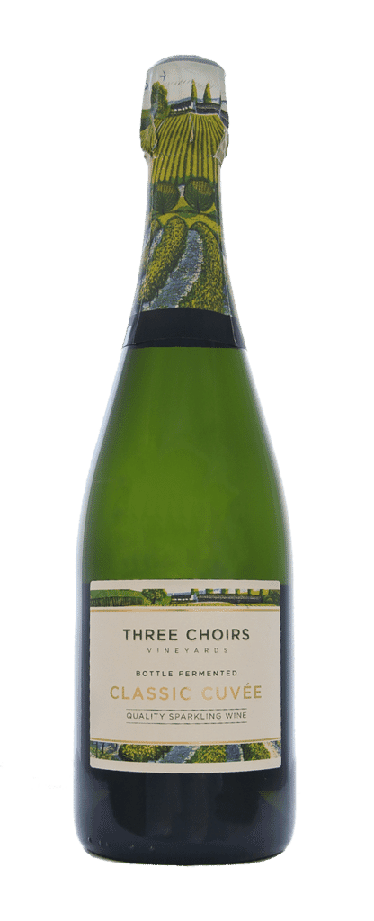 English Sparkling Wine Classic Cuvee n/v by Three Choirs Vineyards