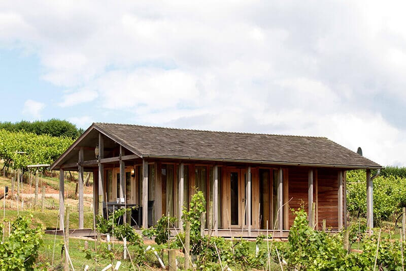 Luxury Lodge Tucked away in the vines at Three Choirs Vineyards
